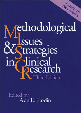 Methodological Issues and Strategies in Clinical Research 9781557989581