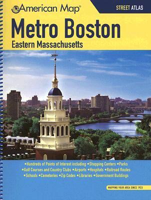 Metro Boston Eastern Massachusetts Street Atlas 9781557513939