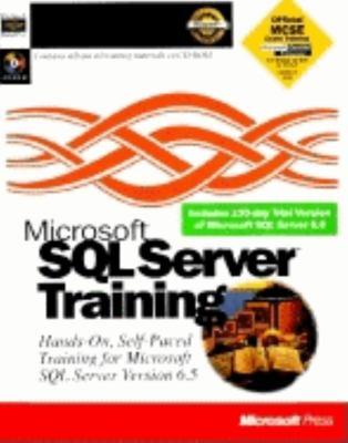 Microsoft SQL Server Trainig [With *] 9781556159305
