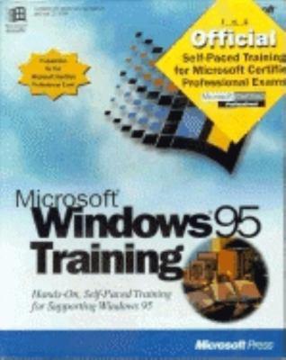 Microsoft Windows 95 Training Kit 9781556159312