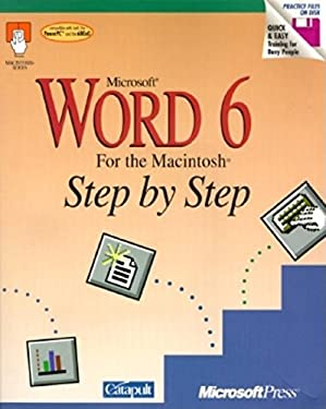 Microsoft Word 6 for the Macintosh Step by Step 9781556156434