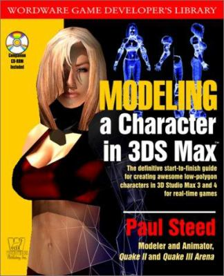 Modeling a Character in 3ds Max [With CD] 9781556228155