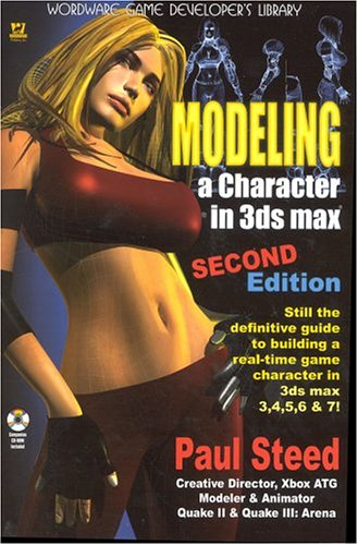 Modeling a Character in 3ds Max [With Cdrm] 9781556220883