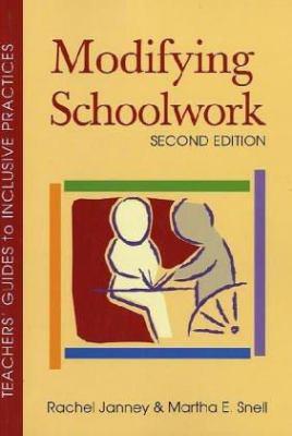 Modifying Schoolwork 9781557667069