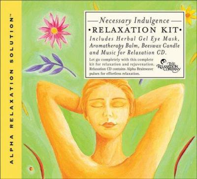 Necessary Indulgence Relaxation Kit [With Eye Mask, Candle & BalmWith CD]