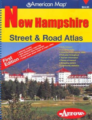 New Hampshire Street & Road Atlas 9781557513137