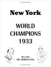 New York World Champions 1933 6851934