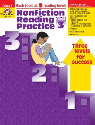 Nonfiction Reading Practice Grade 3 9781557999429