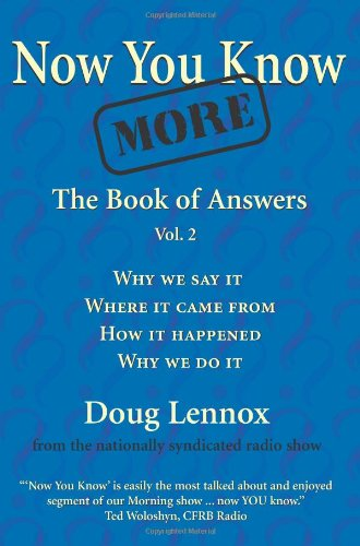 Now You Know More: The Book of Answers, Vol. 2 9781550025309