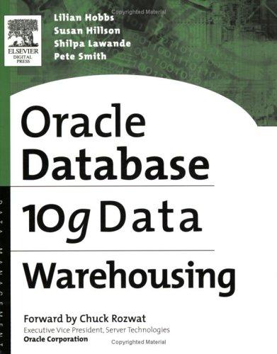 Oracle 10g Data Warehousing 9781555583224