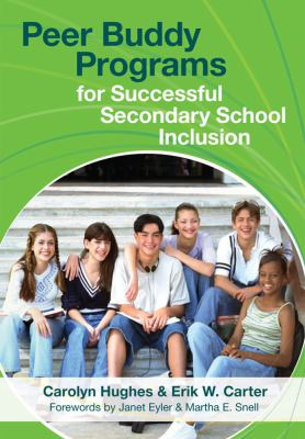 Peer Buddy Programs for Successful Secondary School Inclusion 9781557669803