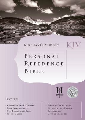 Personal Reference Bible-KJV 9781558198241