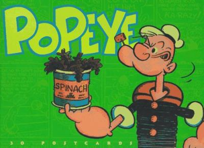 Popeye Postcard Book 9781556705823