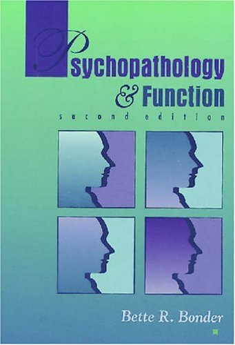 Psychopathology and Function 9781556422706