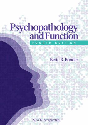 Psychopathology and Function 9781556429224
