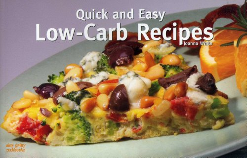 Quick and Easy Low-Carb Recipes 9781558672932