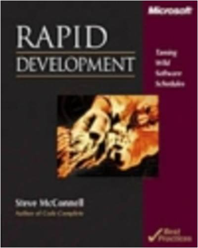 Rapid Development 9781556159008