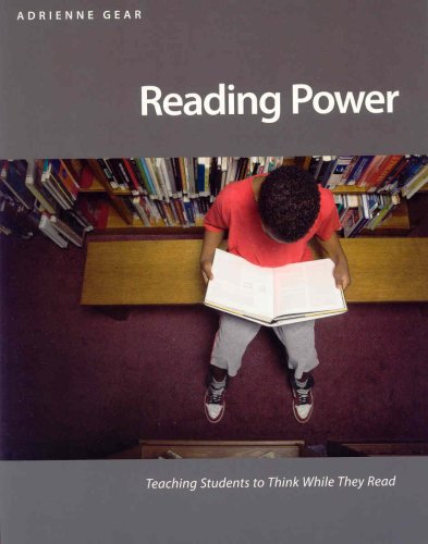 Reading Power: Teaching Students to Think While They Read 9781551382036