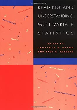 Reading & Understanding Multivariate Statistics 9781557982735