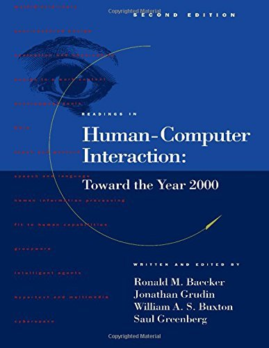 Readings in Human-Computer Interaction: Toward the Year 2000, Second Edition 9781558602465