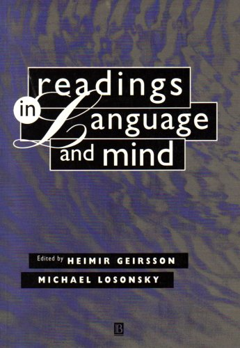 Readings in Language and Mind 9781557866714