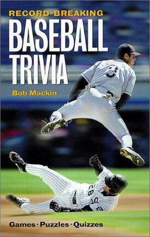 Record-Breaking Baseball Trivia 9781550547573