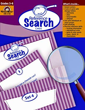 Reference Search Cards, Grades 3-6 9781557999856