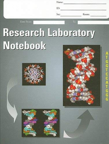Research Laboratory Notebook 9781555813598