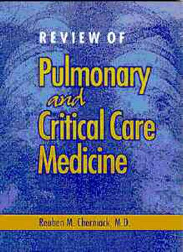 Review of Pulmonary and Critical Care Medicine 9781550090277