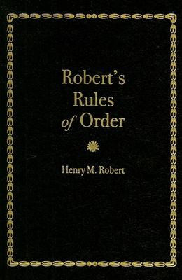 Robert's Rules of Order: Pocket Manual of Rules of Order for Deliberative Assemblies 9781557094193