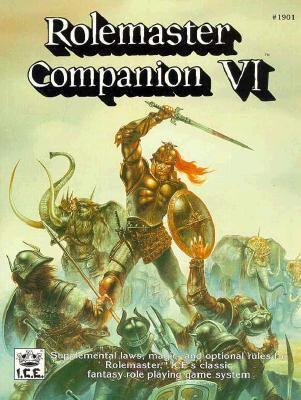 Rolemaster Companion 9781558061644