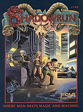 Shadowrun: Where Man Meets Magic and Machine -  FASA Corporation, Paperback