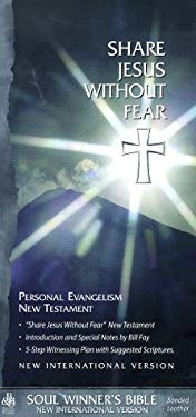 Share Jesus Without Fear New Testament-NIV-Pocket 9781558197947
