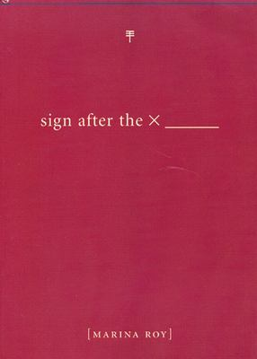 Sign After the X 9781551521121