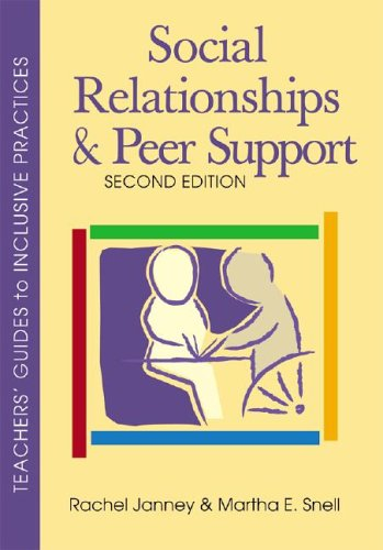 Social Relationships and Peer Support 9781557668219
