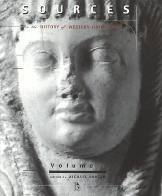 Sources for the History of Western Civilization, Volume 1 9781551113265
