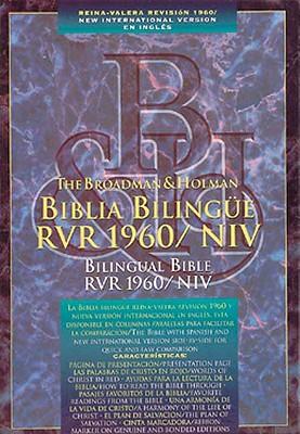 Spanish Bilingual Bible-PR-RV 1960/NIV 9781558192591