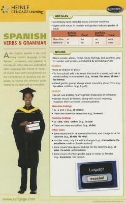 Spanish Grammar Chart 9781554311897