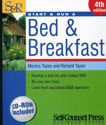 Start & Run a Bed & Breakfast [With CDROM] 9781551808031