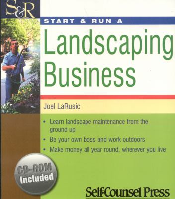 Start & Run a Landscaping Business [With CDROM] 9781551806051