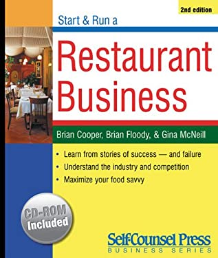 Start & Run a Restaurant Business [With CD-ROM] 9781551806327