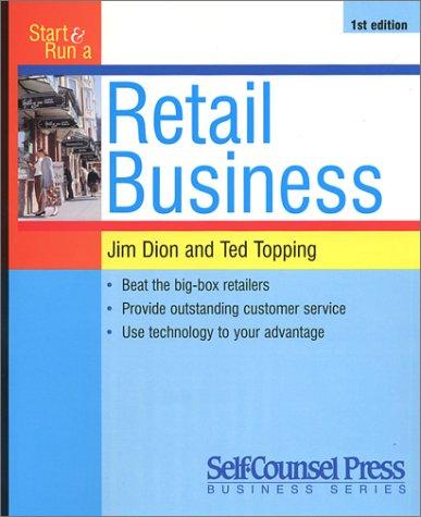 Start & Run a Retail Business 9781551801001