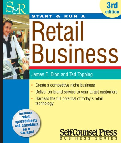 Start and Run a Retail Business [With CDROM] 9781551808178