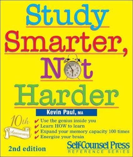 Study Smarter, Not Harder 9781551807416