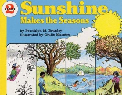Sunshine Makes the Seasons Book and Tape [With Book] 9781559942485