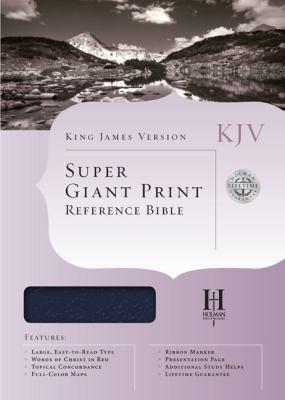 Super Giant Print Reference Bible-KJV 9781558196360