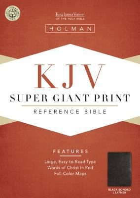 Super Giant Print Reference Bible-KJV 9781558196407