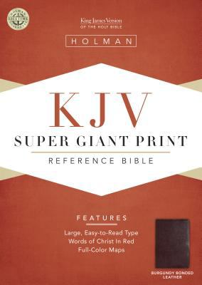 Super Giant Print Reference Bible-KJV 9781558196421