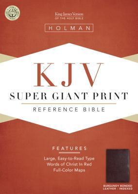 Super Giant Print Reference Bible-KJV 9781558196438