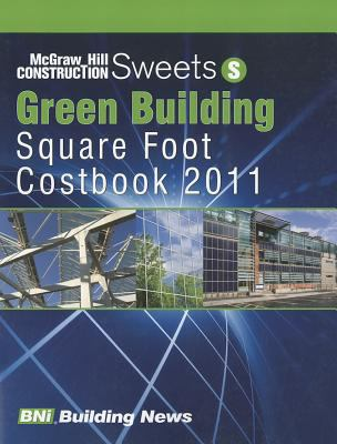 Sweets Green Building Square Foot Costbook 2011 9781557017048
